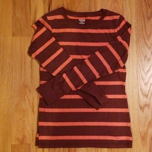 Mossimo long sleeved striped tee